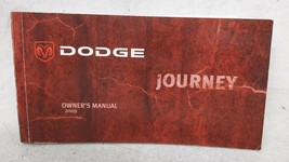 2009 Dodge Journey Owners Manual 53582 - $26.05