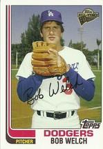 2005 Topps All-Time Fan Favorites #63 Bob Welch  - $0.50