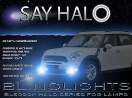 Halo Fog Lamps Angel Eye Driving Lights Kit For 2011-2016 Mini Countryman - $99.77