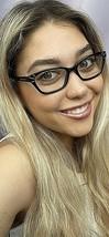 New TORY BURCH TY 0240 7713 Black 50mm Cats Eye Women's Eyeglasses Frame #3,6 - $89.99