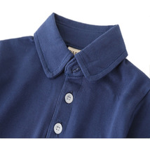 Boy's Polo Shirt Solid Color Long Sleeve All Match Clothing - $20.99