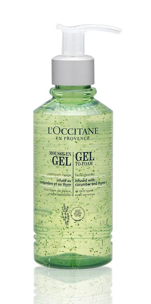 L'OCCITANE Gel-To-Foam Facial Cleanser  6.7oz