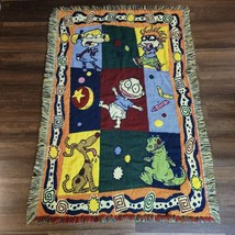 Vintage RUGRATS Tapestry Throw Blanket Tommy Pickles-THE NORTHWEST COMPANY - $49.49