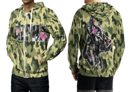 Camo Wild Hunter 3D Print Hoodies Zipper   Hoodie Sweatshirt for  men - $49.80