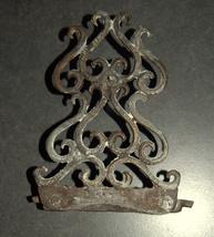 Judaica Hanukkah Oil Menorah Hanukkiah Bronze Oriental Decorations  image 5