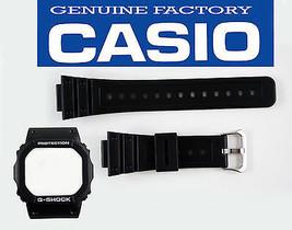 Genuine Casio  DW-5600E BLACK Watch Band STRAP & Bezel Watch Band Case C... - $26.05