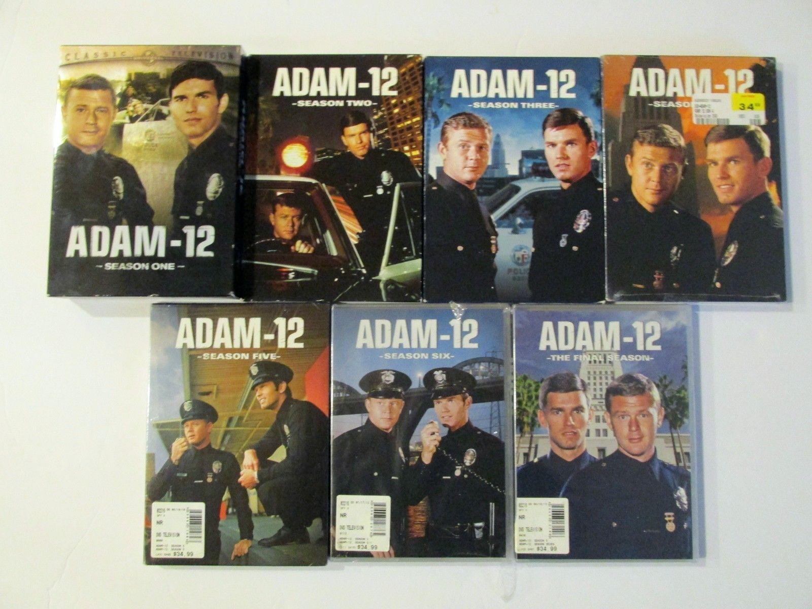 Adam 12 The Complete TV Series Season 1-7 [DVD Sets New] Classic TV