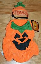 NWT Petco Bootique Pumpkin The Great Pup-Kin Dog Costume Halloween 2 Pie... - $16.99