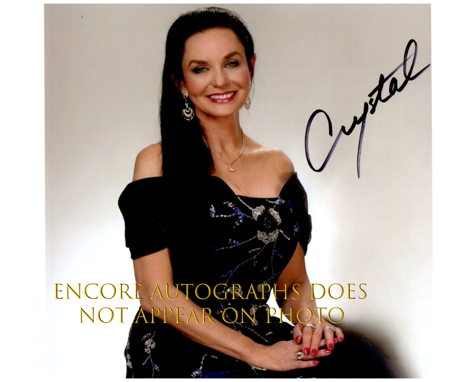 Primary image for CRYSTAL GAYLE  Authentic Original  SIGNED AUTOGRAPHED PHOTO w/ COA 2428