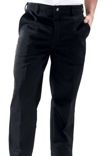 Chef Pants Dickies Black 44 Zipper Front Professional Chefs D2 Wear CW050304 New - $24.22