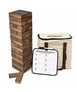Brown Huge Block Game Big Set Large Oversized Wooden Outdoor 1,5 ft Tall... - $67.31