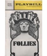 "Winter Garden Theatre Playbill ""Follies"" May 1972 Harold Prince - $3.00"