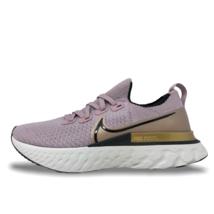 Womens Nike React Infinity Run Flyknit Running Shoes Plum Fog/Gold  CD43... - $120.00