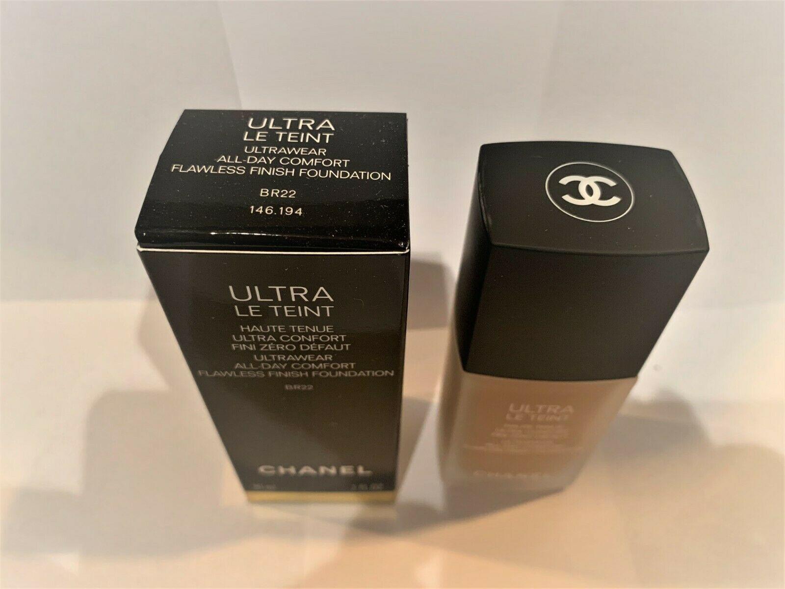 ULTRA LE TEINT CHANEL all day  flawless finish foundation 30ML COLOR BR22 BNIB - $57.95