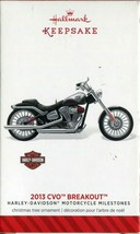 2014 Hallmark Keepsake - 2013 CVO Breakout - 16th in Harley-Davidson Series - $9.89