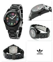 Adidas Mini Brisbane Carousel Black Plastic Unisex Watch ADH2943 $95 - €28,19 EUR