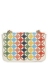 Tory Burch Robinson Embroidered shoulder bag - $500.00