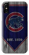Chicago Cubs Wood Fence iPhone XR, XS, XS Max, X, iPhone 6 7 8 Plus Case - $16.99