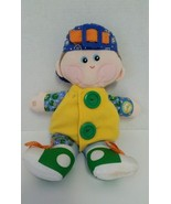 "HASBRO PLAYSKOOL Dapper Dan Learn To Dress Me Doll 15"" Preschool Learning Toy  - $9.99"