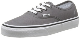 Vans Classic Unisex Authentic Skate Shoe Pewter/Black - $50.00