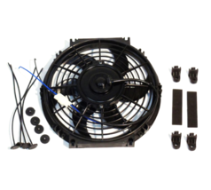 "A-Team Performance 10"" Electric Reversible Radiator Cooling Fan 12V 850CFM"