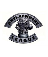 Anti-Nowhere League shaped vinyl self cling window sticker The Damned 33... - $12.73
