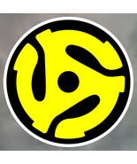 45rpm vinyl sticker record collector 150mm LP 45 rsd 2016 - $4.85