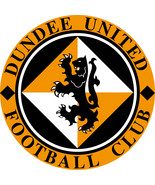 Dundee United FC vinyl sticker shaped contoured 120mm football Scotland - $4.46+