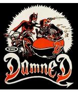The Damned vinyl sticker 10.5cm x 13cm Grave Disorder punk - $3.35