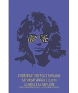 The Doors laminated art print 895mm X 650mm Jim Morrison concert poster - $49.00