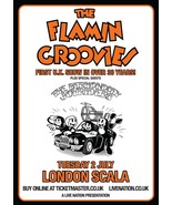 The Flamin Groovies large art print 900mm X 650mm concert poster - $37.00
