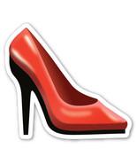 Emoji High Heels shaped vinyl sticker sexy iPhone shoes glamour fetish 1... - $3.00+