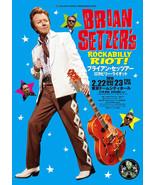 Brian Setzer laminated art print 895x633mm Stray Cats rockabilly orchestra - $49.00