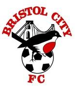 Bristol City FC crest vinyl sticker shaped contoured football soccer The... - $3.30