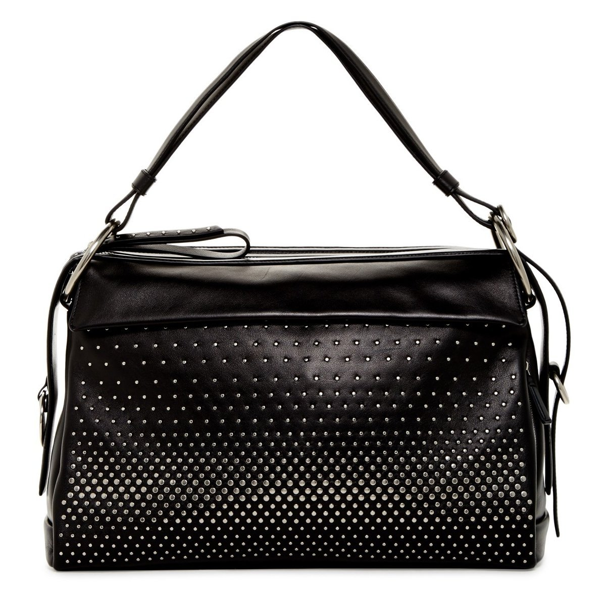 Primary image for Marc by Marc Jacobs Prism 40 Leather Shoulder Bag - Black