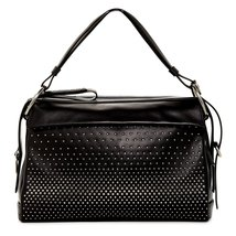 Marc by Marc Jacobs Prism 40 Leather Shoulder Bag - Black - $534.91