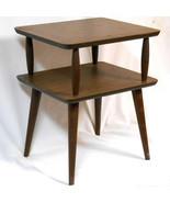 VINTAGE Mid Century Modern wood side table sofa... - $225.99