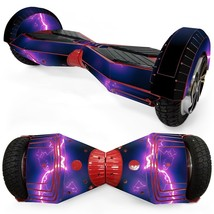 Thunder Light overboard hoverboard 8 inch decal skin - $25.00