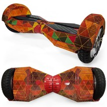Red Triangle Joint overboard hoverboard 8 inch skin - $25.00