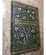 Das Heideprinzesschen by Eugenie Marlitt c. 1890 German Original Hardcover - $27.43