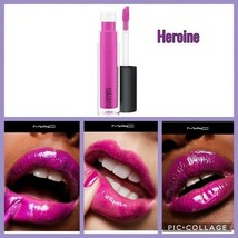"MAC ""HEROINE"" Lip gloss NEW in box Lipglass - $19.79"