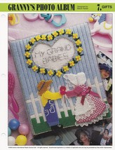 Granny's Photo Album, Annie's Attic Plastic Canvas Pattern Leaflet PLCX3... - $3.95