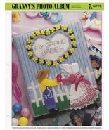 Granny's Photo Album, Annie's Attic Plastic Canvas Pattern Leaflet PLCX3... - $3.95