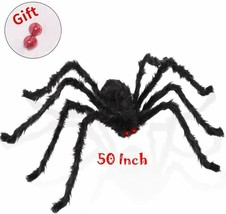 Halloween Party Decorations Props Scary Spider 50 Inch  for Outdoor and ... - $268.01