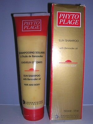 Phyto Plage Sun Shampoo w/ Bancoulier Oil for Hair and Body 5 oz NIB