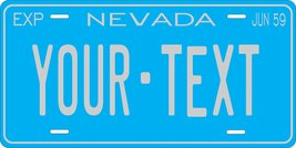 Nevada 1959 Personalized Tag Vehicle Car Auto License Plate - $16.75