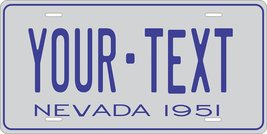 Nevada 1951 Personalized Tag Vehicle Car Auto License Plate - $16.75