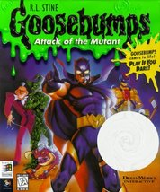 R.L. Stine Goosebumps: Attact of the Mutant - PC [video game]