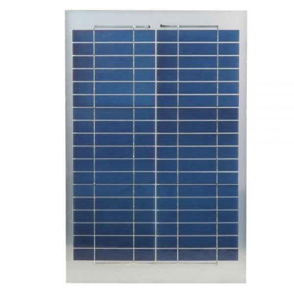 Semi-flexible 20W Solar Panel Module Kit for Gate Automatic Door Openers Battery