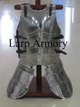 Medieval Knight Reenactment Armour Breastplate Cuirass Front And Back - $299.00